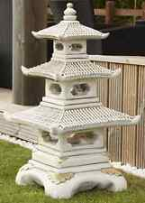 3 Tier Oriental Style Pagoda Free Delivery Over 3 feet tall Border Stoneware