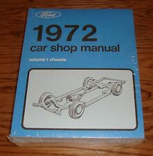 1972 Ford & Mercury Car Shop Service Manual Vol 1 2 3 4 5 Set 72 Mustang