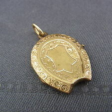 schönes Medaillon Golddoublé Jugendstiel ca.um 1900