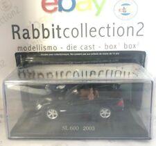 """DIE CAST """" SL 600 - 2003 """" MERCEDES COLLECTION SCALA 1/43 (52)"""