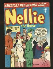 Nellie The Nurse # 28 - Kurtzman G/VG Cond. piece out of pg 2 story not affected