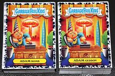 2017 GARBAGE PAIL KIDS ADAM GEDDON COMPLETE BRUISED SET 180 CARDS COLLECTOR ED
