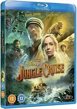 JUNGLE CRUISE [Blu-ray] (2021) Dwayne Johnson Disney UK Exclusive Region Free