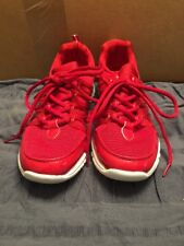 STRADALLI CYCLING RUNNING CROSS TRAINING MEN'S SHOES RED/ WHITE, SZ. 7 NEW!