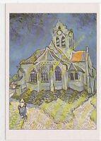 CP ART TABLEAU VINCENT VAN GOGH Eglise Auvers