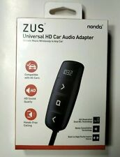 Nonda ZUS Bluetooth HD Car Audio Adapter - Works with AUX or as a FM Modulator