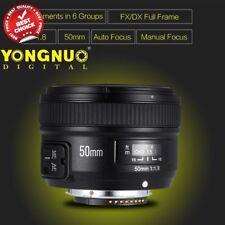 Yongnuo YN 50mm f/1.8 MF AF Large Aperture Lens for Nikon
