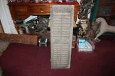 Antique Wood Window Shutter Country Barn Farm Primitive Shutter #4 Shabby Chic