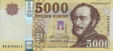 Ungarn / Hungary 5000 Forint 2016 (1)