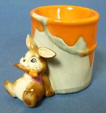 Goebel - Eierbecher mit Hase ( Osterhase ) - orange - #15033_34