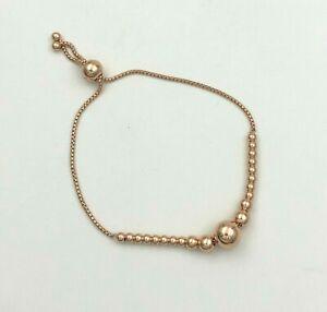 Genuine PANDORA Rose™ String of Beads Slider Bracelet 587749C00 - Choose Size