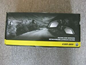 NEW Genuine Can Am BRP Maverick Max Racing Side Mirrors 715002898 OEM
