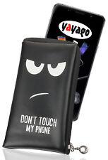 Soft Case mit Motiv Tasche für Sony Xperia XZ2 Compact Schutz Hülle Etui schwarz