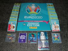 Panini Euro 2020 Tournament Complet !!