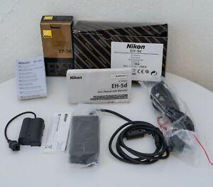 GENUINE Nikon EP-5B Power Connector & AC Adapter EH-5 UNUSED