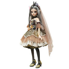 60cm 1/3 BJD Doll + Free Eyes Makeup + Clothes + Wig + Shoes Girl Gifts Full Set