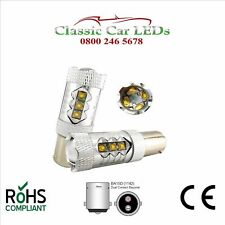 2x 80W BA15D CREE 12V 24V HIGH POWER LED BULB STOP REVERSE FOG DRL 335 810 005