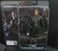 Terminator 2 T-800 Cyberdyne Showdown 7 Arnold Action Figure Mint New in Box