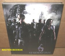 Resident Evil 6 Guide Book New + Patches (2012, Hardcover, Limited) PS3 Xbox 360