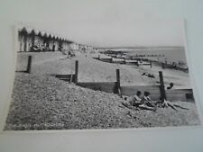 Vintage RPPC The Beach Milford-On-Sea - Unposted   §A776