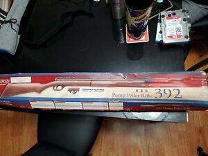 Benjamin Sheridan 392PA 5.5 mm .22 cal Bolt Action Pump Air Rifle RARE WITH BOX!