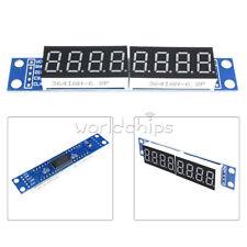 Blue Max7219 Led Dot Matrix 8 Digit Digital Tube Display Control For Arduino