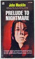 Prelude to a Nightmare by John Macklin 1970 Ace Star Paperback 67700