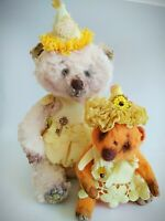 Teddy Big Bear Snowball OOAK Artist Teddy by Voitenko Svitlana.