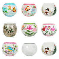 Village Candle Hand Painted Globes (10cm) - Various Designs Available