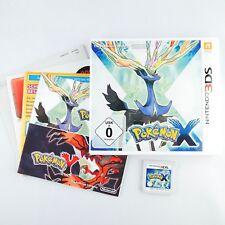 Pokémon: X |Nintendo 3DS |Mit OVP & Anleitungen |Guter Zustand