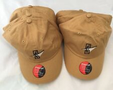 Lot of 6 Imperial Cotton Golf Hats Mustard with Club Logo  NEW!