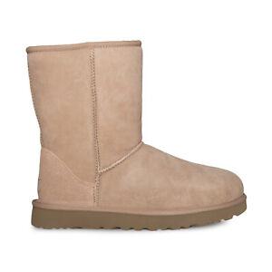 UGG CLASSIC SHORT II ARROYO WATERPROOF SUEDE WOMEN'S BOOTS SIZE US 10/UK 8.5 NEW