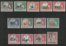 QEII BASUTOLAND 61 set fresh vlmm cat £50