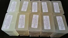10 lb SHAVING EXTRA LATHER Melt And Pour Soap Glycerin Natural BULK Wholesale