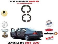 FOR LEXUS LS400 4.0 1UZ-FE 1989-2000 NEW HAND BRAKE REAR SHOES SET