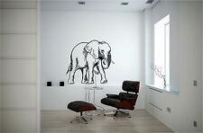 Elephant Wall Sticker Wall Art Decor Vinyl Decal Sticker Mural Huge!!