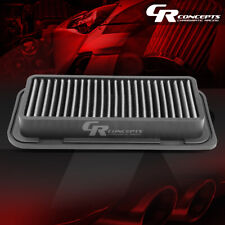SILVER WASHABLE HIGH FLOW AIR FILTER FOR 04-06 SCION XA XB 5DR 00-05 TOYOTA ECHO