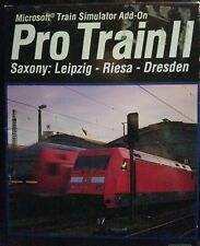 Microsoft Train Simulator Pro Train II Saxony: Leipzig - Riesa - Dresden PC 2002