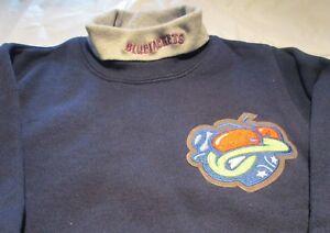 Columbus Blue Jacket Youth Sweat Shirt XL Turtleneck  NHL Majestic 50/50 Vintage