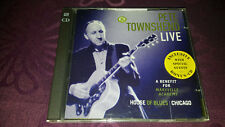 CD Pete Townshend Live / A Benefit for Maryville Academy - with Bonus CD