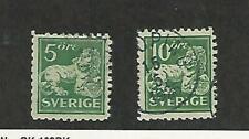 Sweden, Postage Stamp, #130-131 Used, 1920, JFZ