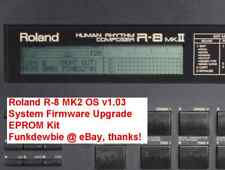 Roland R-8 MK2 OS v1.03 Final EPROM Firmware Upgrade KIT