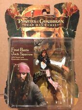 Zizzle Pirates of the Caribbean Dead Man's Chest Final Battle Jack Sparrow. NIB
