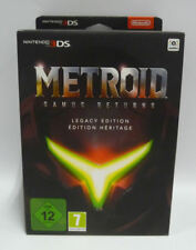 METROID: SAMUS RETURNS LEGACY EDITION LIMITED - NEW NINTENDO 3DS XL RARE NEW