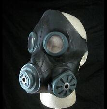 Gasmask Smoke Black Military Costume Adult Latex Halloween Mask