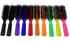Lot 6 Brittny Professional HAIR BRUSHES BR10 Nylon Bristles Scalp Massaging New