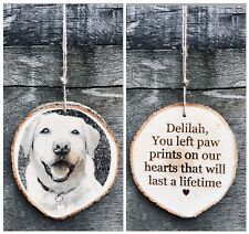 ENGRAVED PET MEMORIAL PLAQUE. PERSONALISED ENGRAVING DOG PICTURE MEMORIAL SIGN