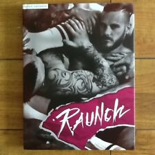 Raunch Book Full Page Male Erotic Photos Drawings Beards Leather Sexual  HC