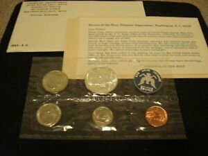 1965, 1966, & 1967 SMS SPECIAL MINT SET'S - ALL (3) WITH ORIGINAL PACKAGING..