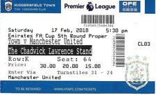 Huddersfield Town v Manchester United 2017/2018 FA Cup billet